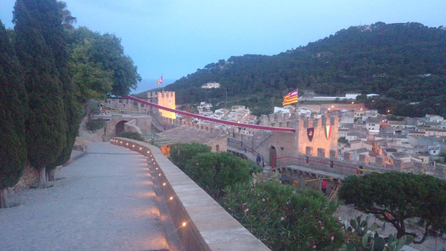 Mallorca castle