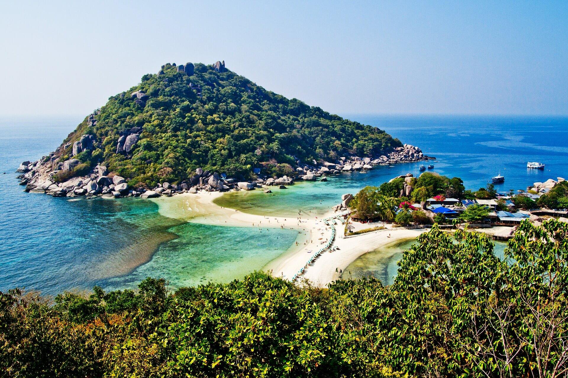Koh Nang Yuan, Koh Tao, Thailand