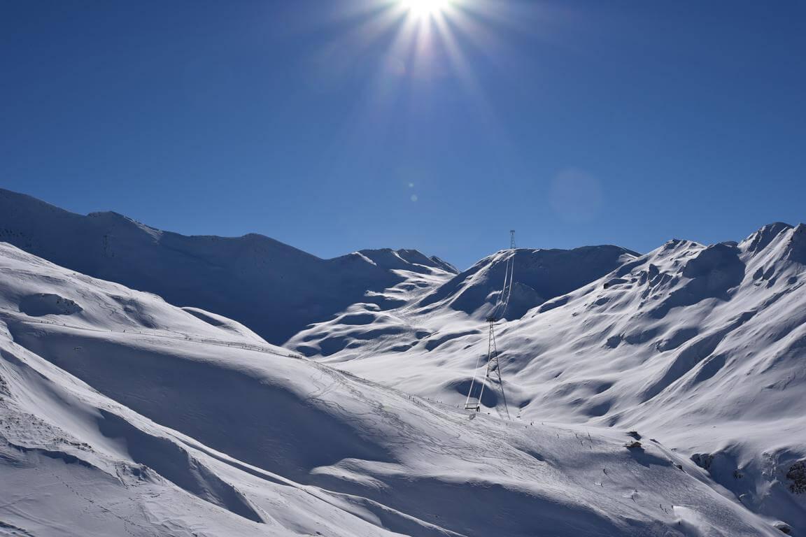 Samnaun Ischgl Skiing