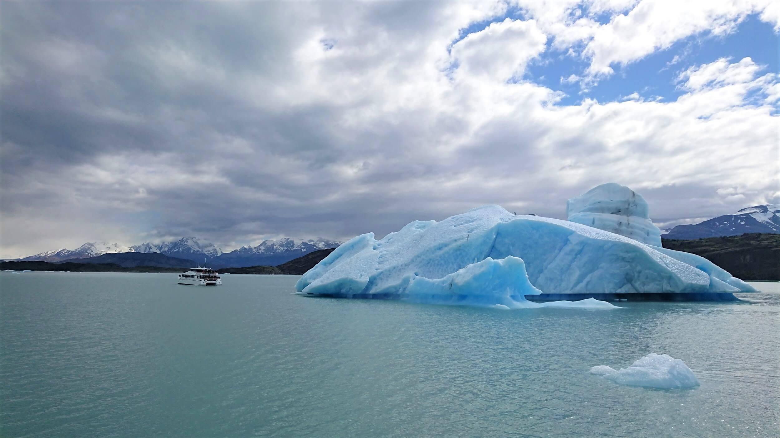 Glacier Iceberg in Patagonia